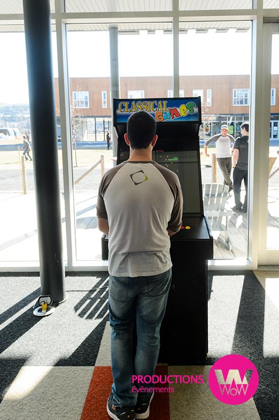 Arcade pac man