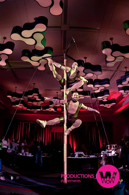 Artiste cirque-Mat chinois