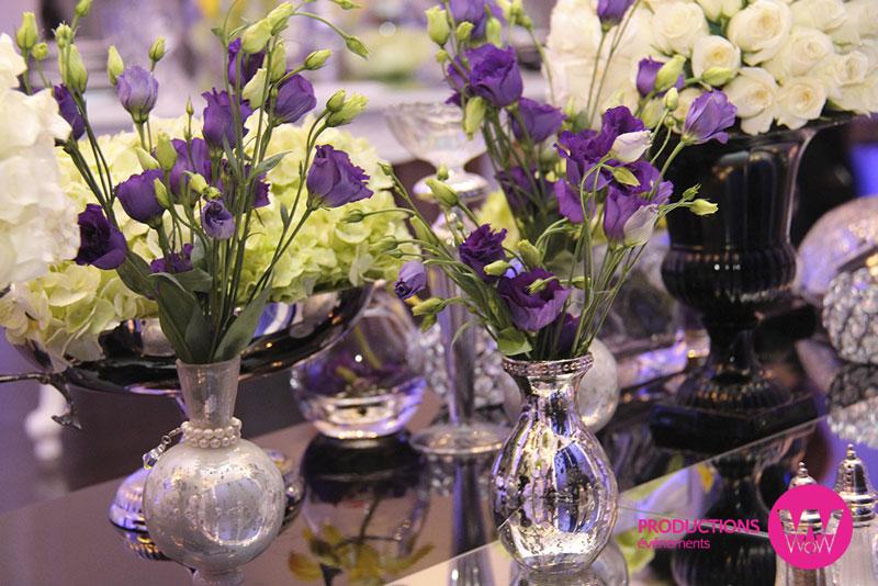 Fleurs-mauve,-petit-vases