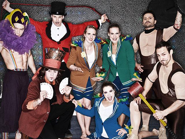Le-groupe-Forget-Les-artistes-de-cirque