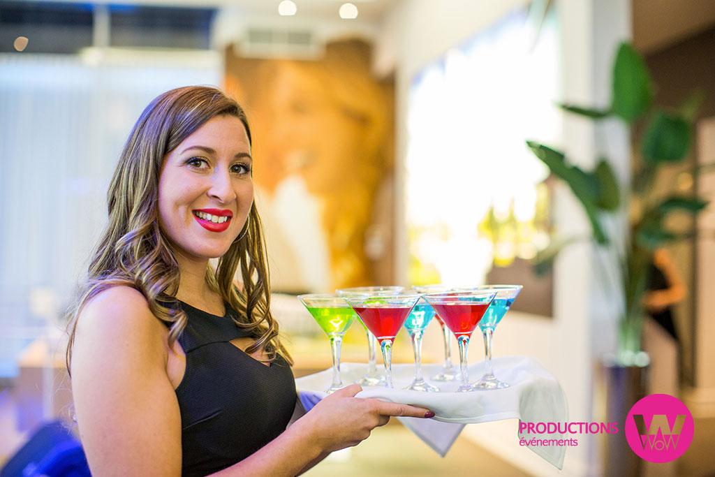 Serveuse-cocktail