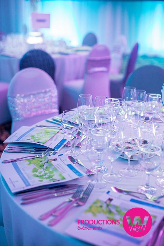 Table soiree gastronomique