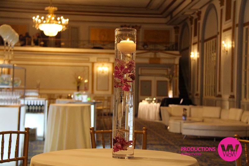 Vase,eau,chandelle