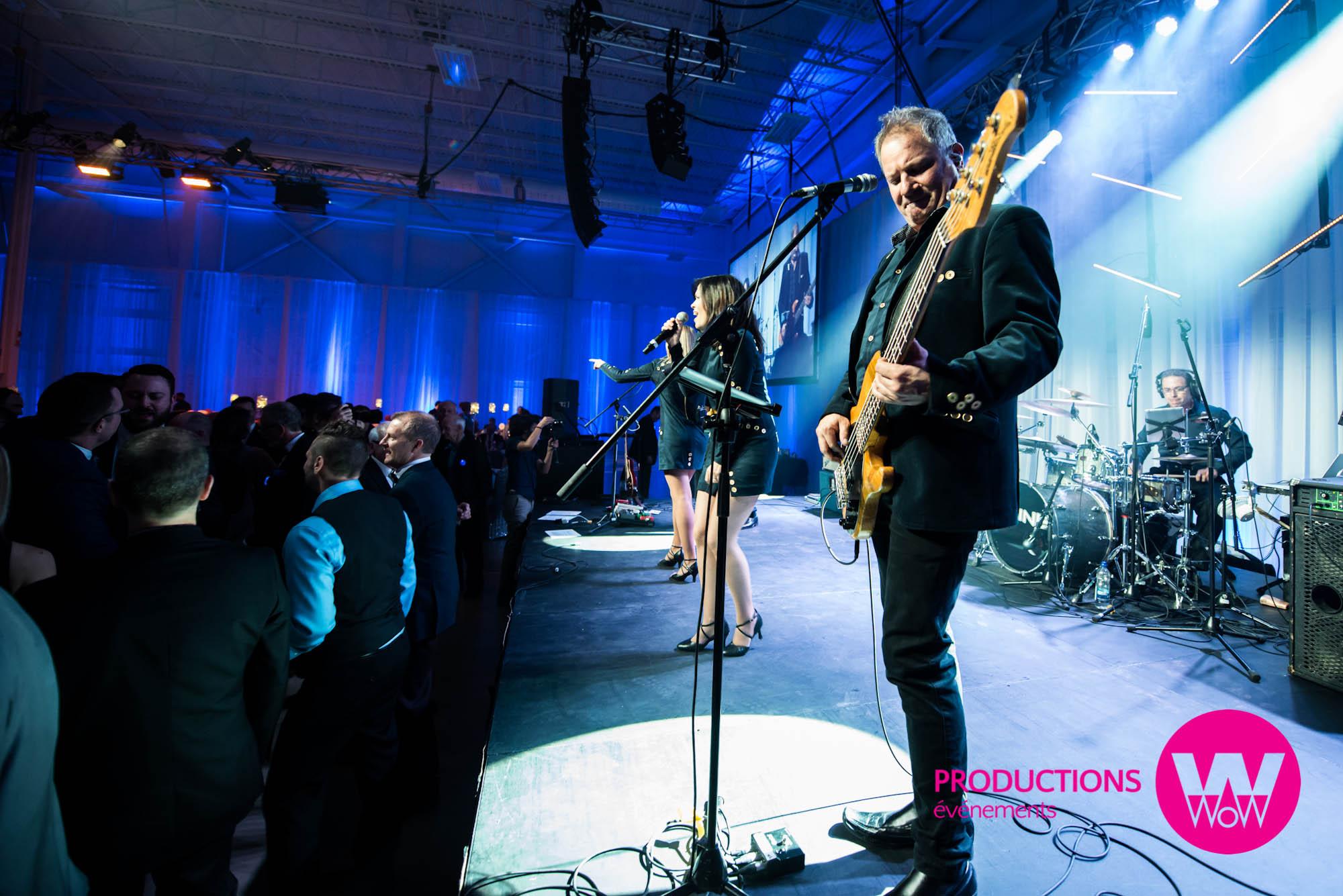 Groupe musicale, congrès, événements party