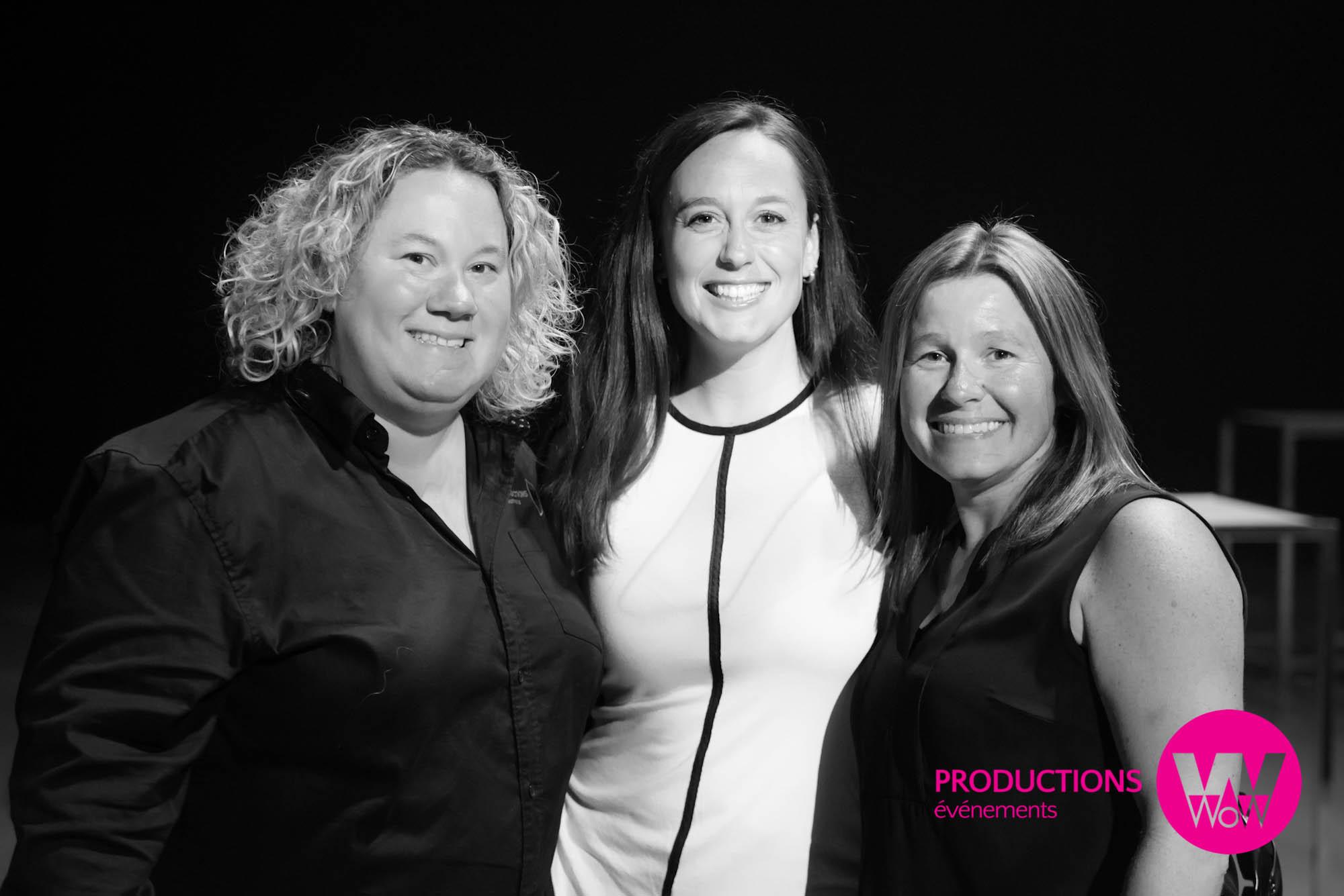 Marie-Josee Desrosiers, Caoline Rouleau, Josee Cochelin, Les Productions WOW